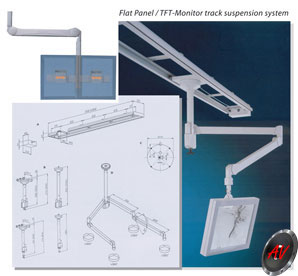 Monitor Holder Ceiling Mount